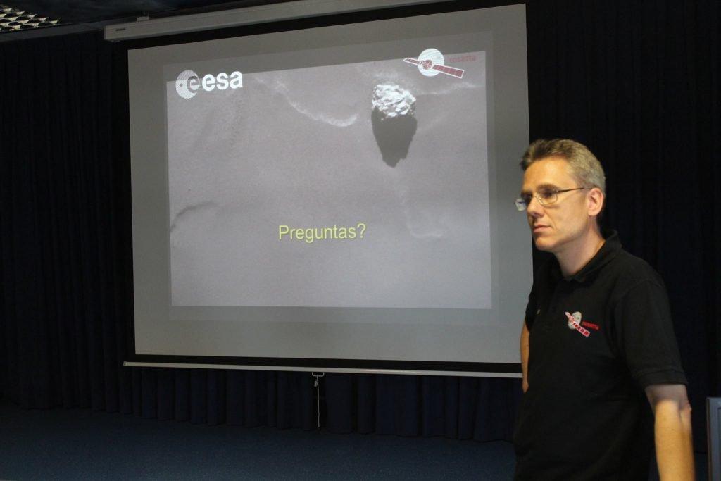 Conferencia del científico de la ESA Michael Küppers sobre la misión Rosetta