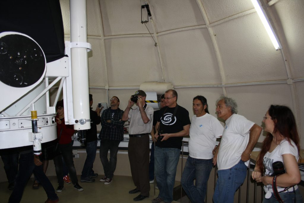 Visita al Observatorio Astronómico de La Hita